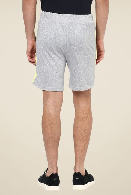 Yepme Light Grey Ritter Shorts
