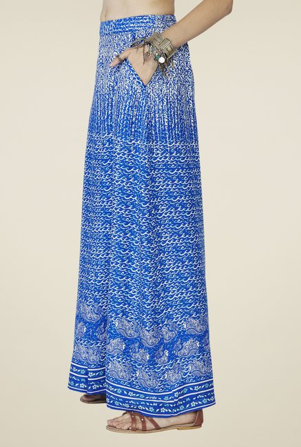 Global Desi Blue Maya Palazzos