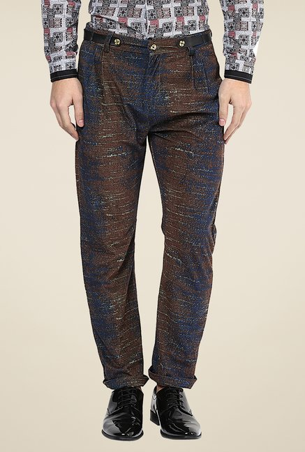 Yepme Brown Ashten Party Trouser