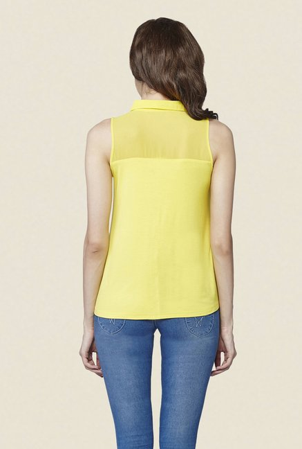 AND Yellow Solid Top