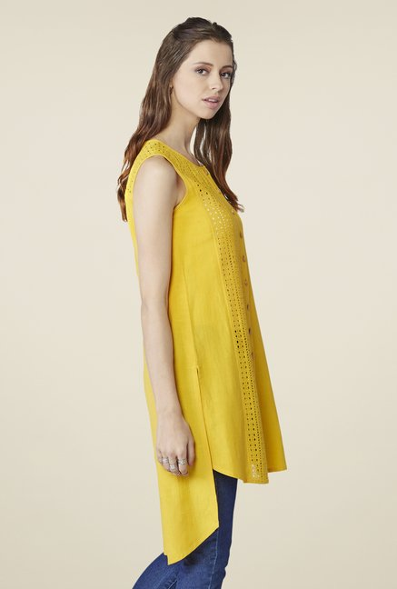 Global Desi Mustard Solid Top