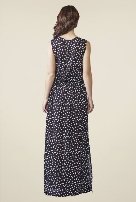 AND Navy Floral Print Dress