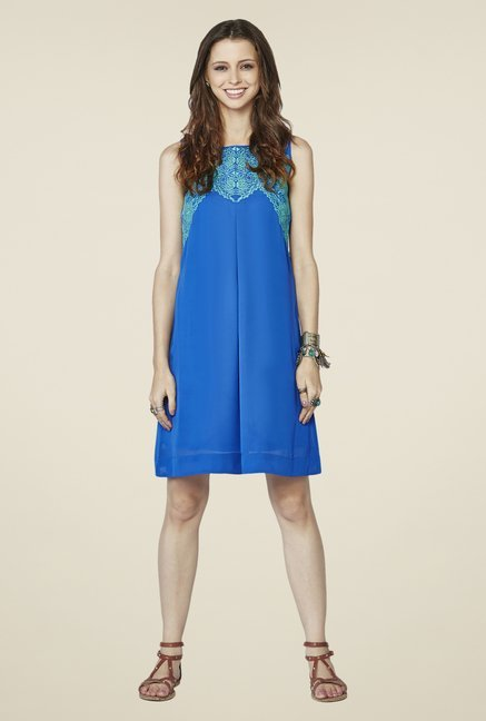 Global Desi Blue Arwen Dress