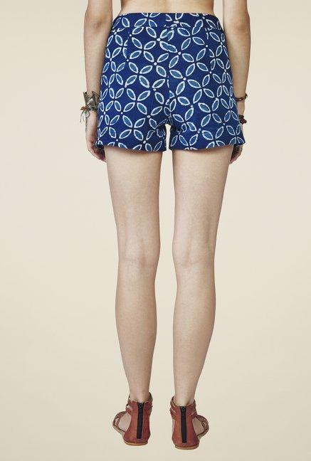 Global Desi Blue Darya Shorts