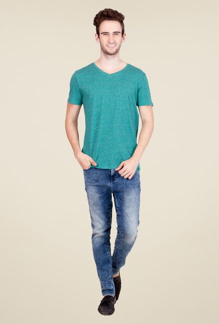 United Colors of Benetton Green T Shirt