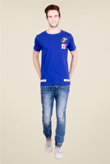 United Colors of Benetton Blue T Shirt