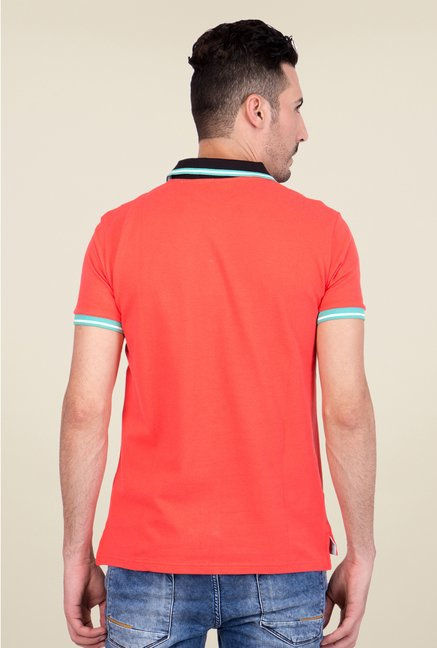 United Colors of Benetton Coral Polo T Shirt