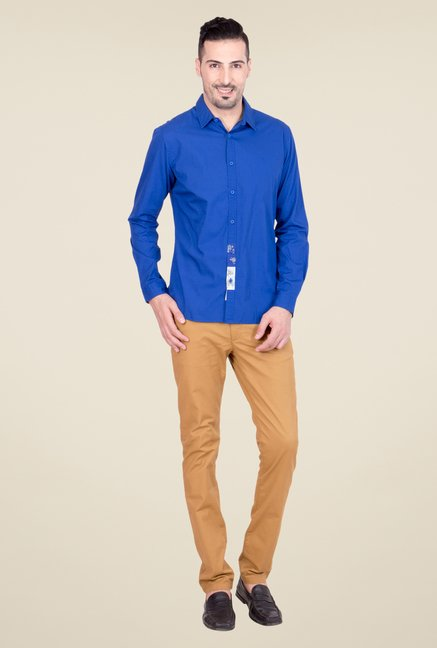 United Colors of Benetton Blue Shirt
