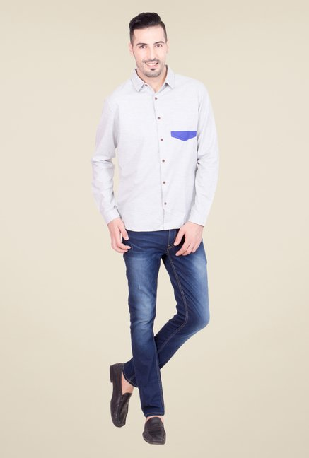 United Colors of Benetton Grey Shirt