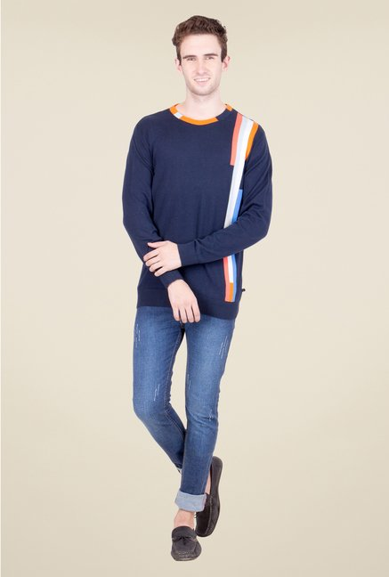 United Colors of Benetton Navy Sweater