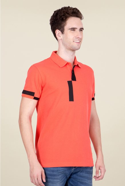 United Colors of Benetton Red Polo T Shirt