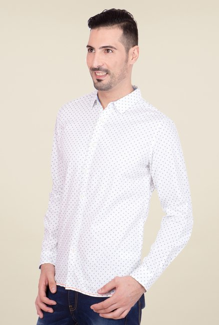 United Colors of Benetton White Shirt