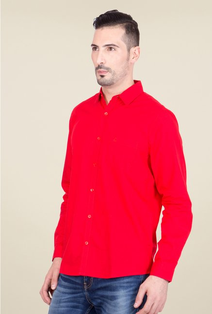 United Colors of Benetton Red Shirt