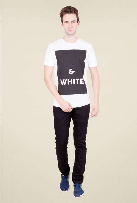 United Colors of Benetton White T Shirt