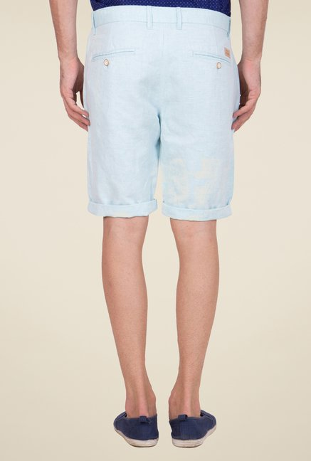 United Colors of Benetton Sky Blue Shorts
