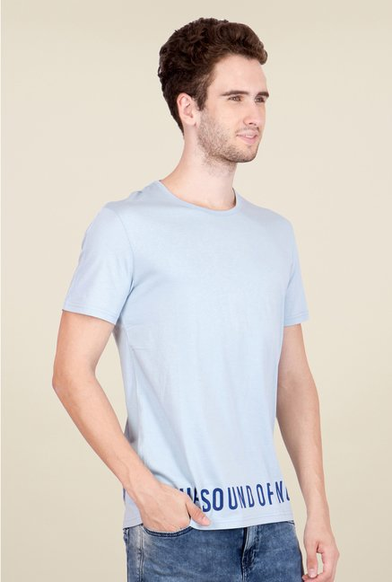 United Colors of Benetton Light Blue T Shirt