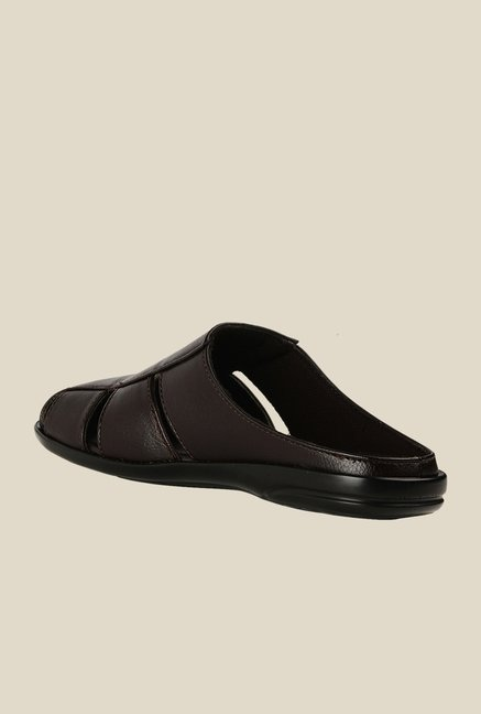 Bruno Manetti Brown Casual Sandals