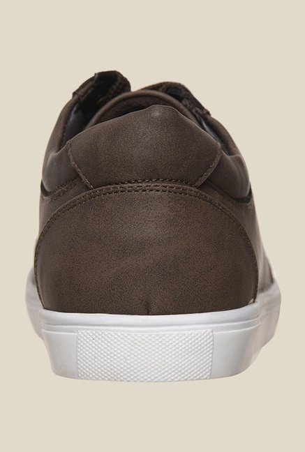Bruno Manetti Brown & White Sneakers