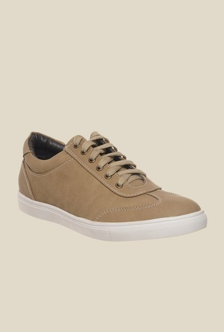 Bruno Manetti Beige & White Sneakers