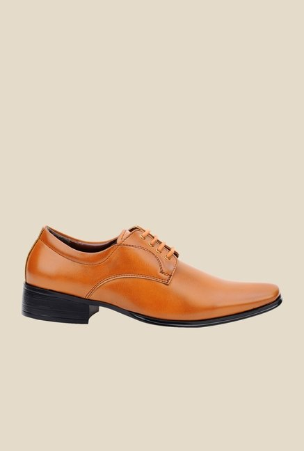 Bruno Manetti Teak Derby Shoes