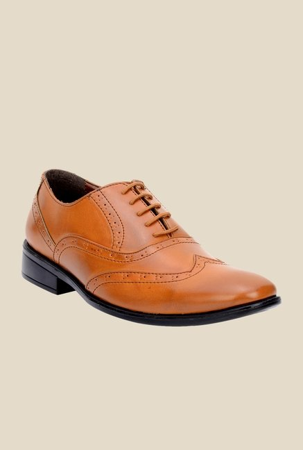 Bruno Manetti Teak Oxford Shoes