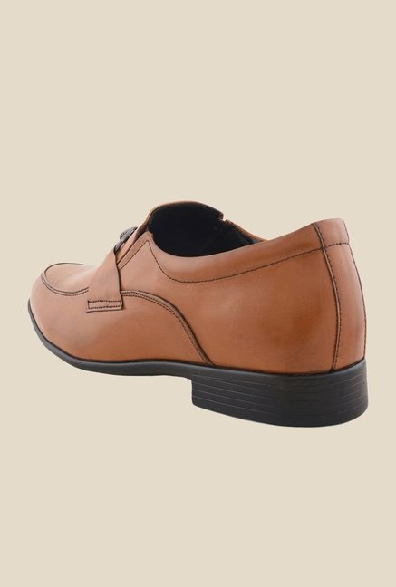 Bruno Manetti Teak Formal Slip-Ons