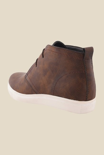 Bruno Manetti Brown Chukka Shoes