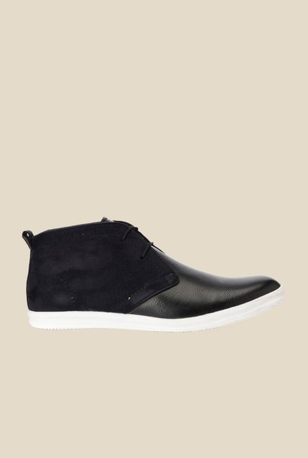 Bruno Manetti Black Chukka Shoes