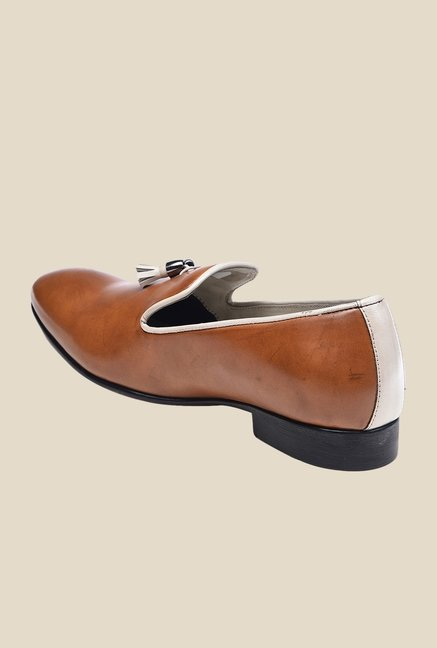 Bruno Manetti Tan Casual Moccasins