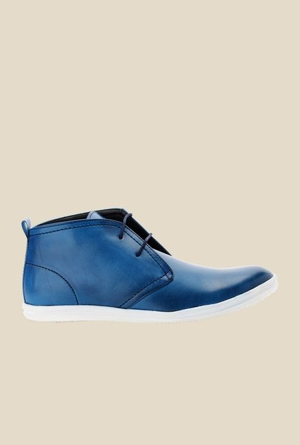 Bruno Manetti Blue Chukka Shoes