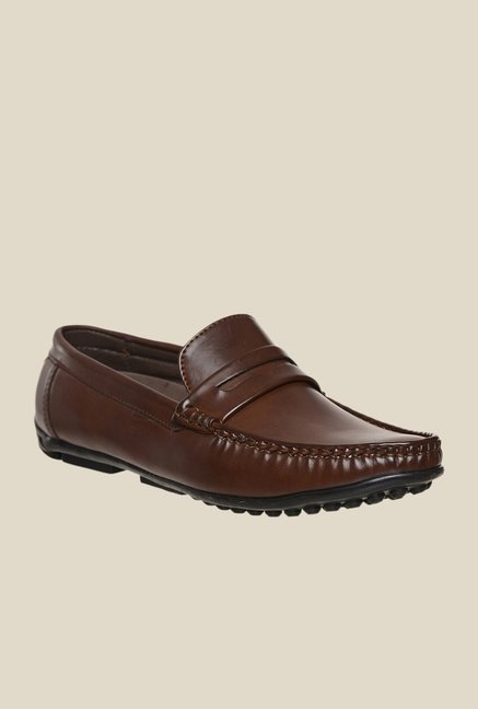 Bruno Manetti Brown Casual Loafers