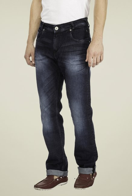 Mufti Grey Straight Fit Jeans