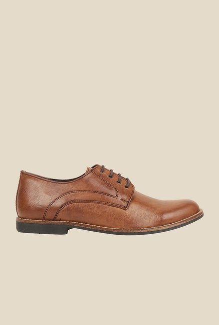 Bruno Manetti Brown Derby Shoes