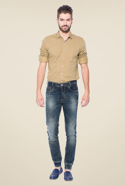 Mufti Navy Slim Fit Jeans