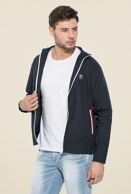 Mufti Navy Slim Fit Jacket
