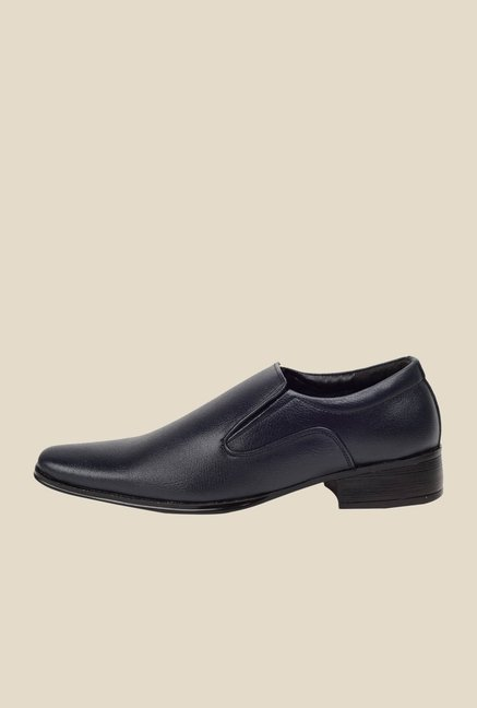 Bruno Manetti Navy Formal Slip-Ons