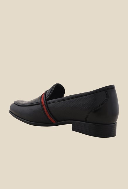 Bruno Manetti Black Casual Slip-Ons