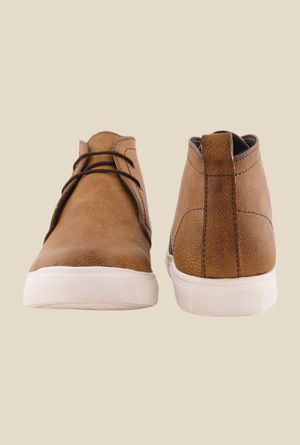 Bruno Manetti Tan Chukka Shoes