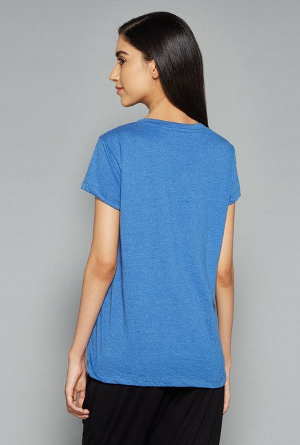 Westsport by Westside Blue Printed Top