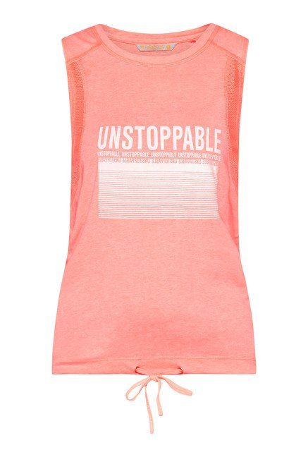 Westsport by Westside Coral Printed Top