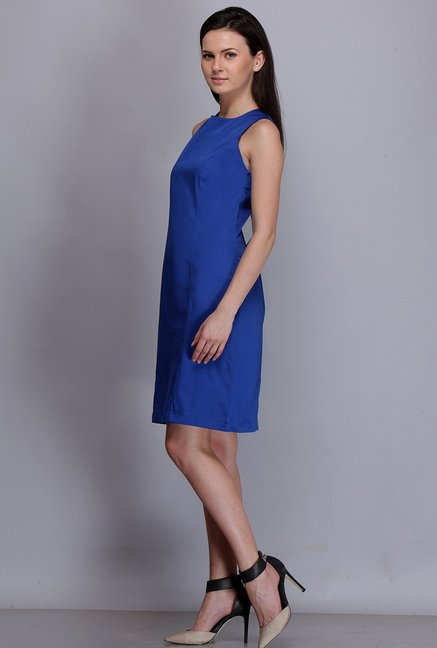Kaaryah Indigo Solid Dress