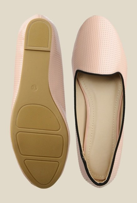 Bruno Manetti Peach Flat Ballets