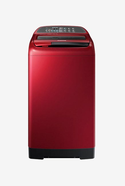 Samsung WA70K4000HP/TL 7 kg Washing Machine (Scarlet Red)