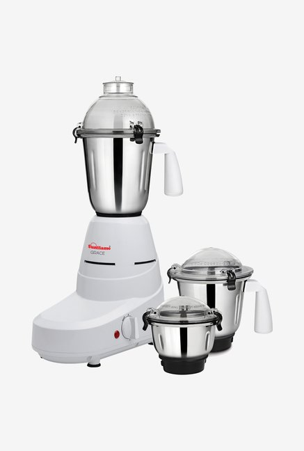 Sunflame MG Grace 600-Watt Mixer Grinder (White)