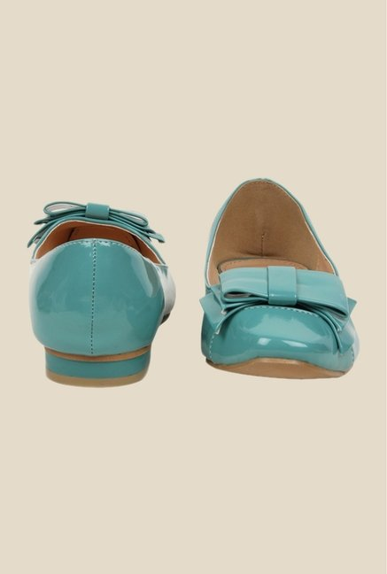 Bruno Manetti Turquoise Flat Ballets