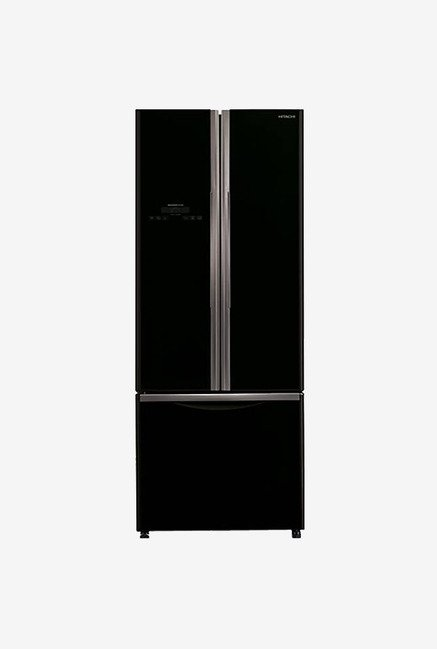 Hitachi WB480PND2 465 Ltr Side by Side Refrigerator (Black)