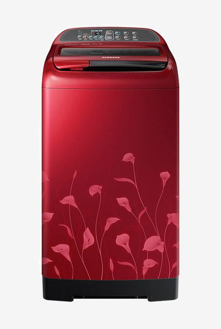 Samsung WA70K4020HP 7 kg Washing Machine (Scarlet Red Lily)