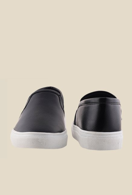 Bruno Manetti Black & White Sneakers