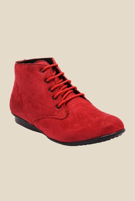 Bruno Manetti Red Chukka Boots