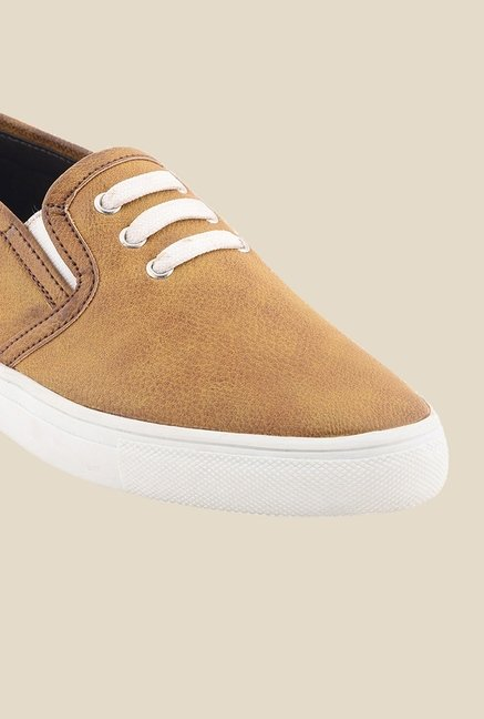 Bruno Manetti Tan & White Sneakers